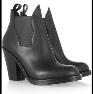 Acne Studios Star leather ankle boots size 38